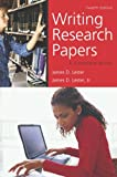 Writing Research Papers, James D. Lester, 0321457986