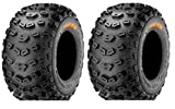 Pair of Kenda Klaw XC Sport (6ply) ATV Tires Rear [20x11-10] (2)