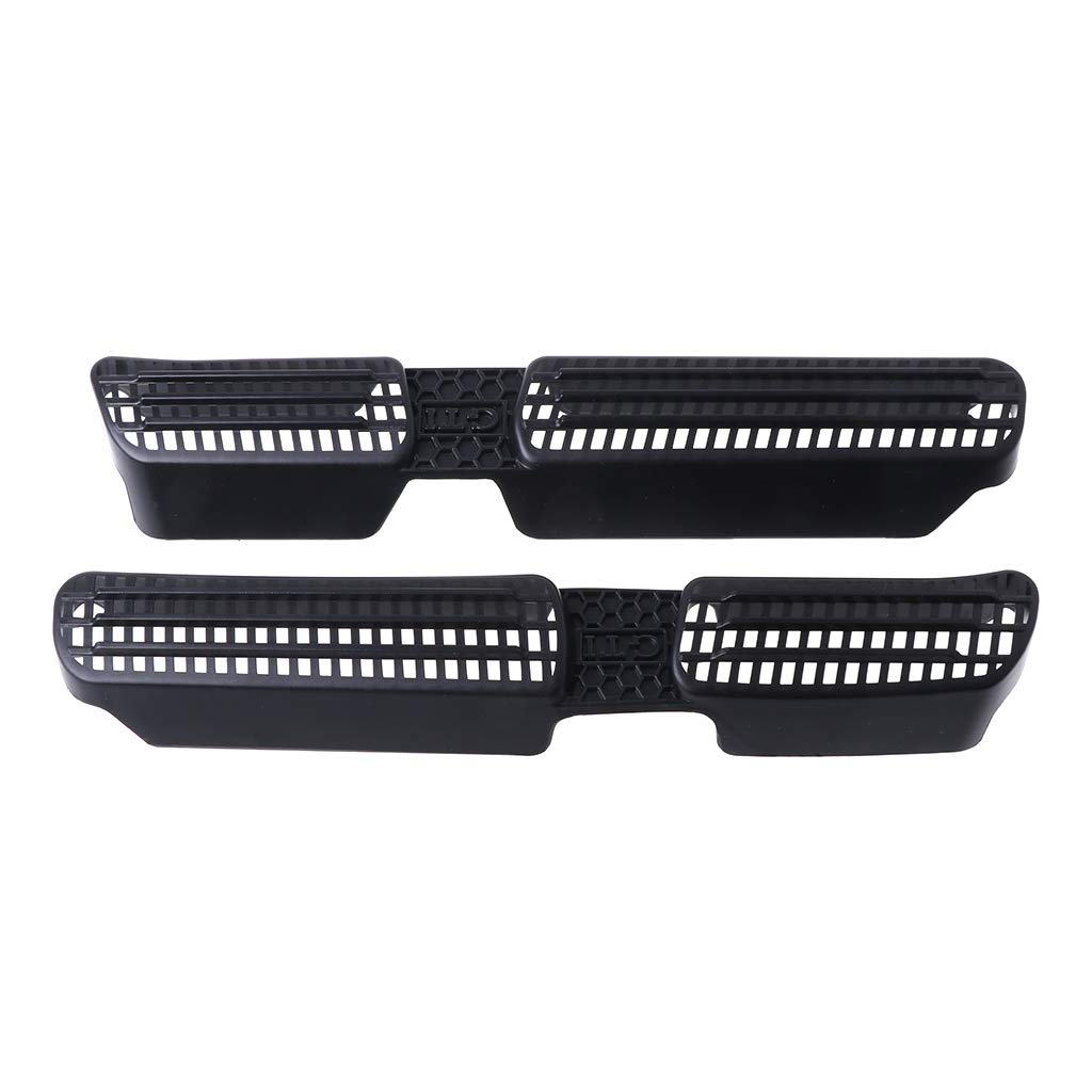 Celan High Performence 2 Pcs Rear Seat Car Air Outlet Duct Cover Grille For VW Tiguan 2 Mk2 2016-2018