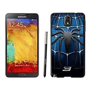 NEW Custom Designed For SamSung Galaxy S3 Case Cover Phone With Spider Man 3 Blue Chest Logo_Black Phone