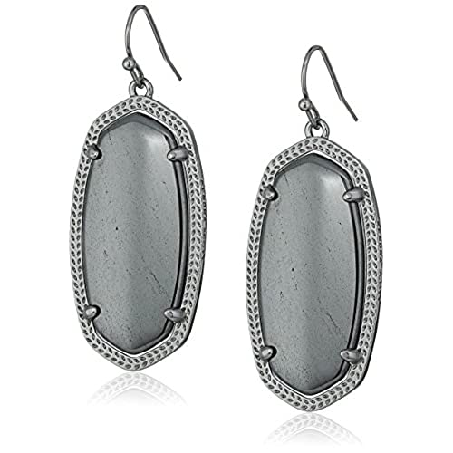earrings haute hematite