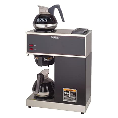 Amazon.com: Bunn pour-o-matic two-burner Pour-Over café ...