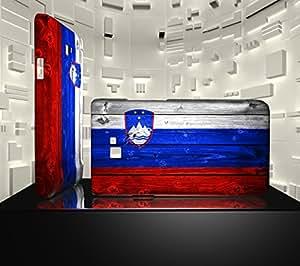 Funda Carcasa para Galaxy S2 Bandera ESLOVENIA 02
