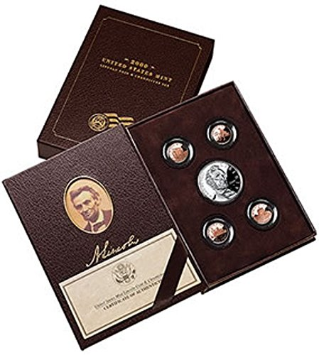 - 2009 P Presidential Coin & Chronicles Set - Abraham Lincoln Proof
