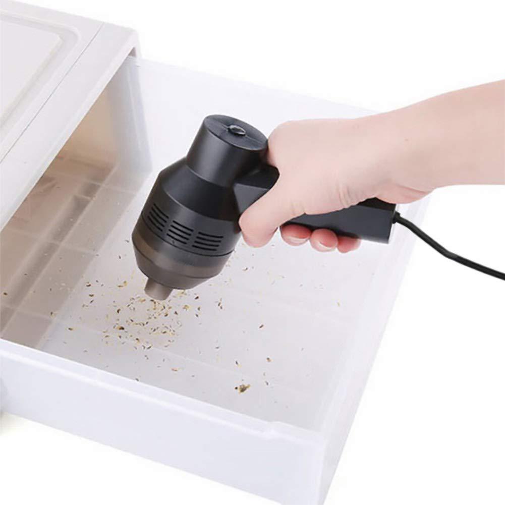 recargable para el coche USB en casa Aspiradora de mano EqWong sin bolsa en mojado y seco con teclado para ordenador port/átil inal/ámbrica