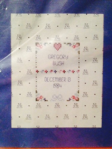 Print Needlepoint - Prints Charming - Baby Boy Needlepoint Birth Announcement 8