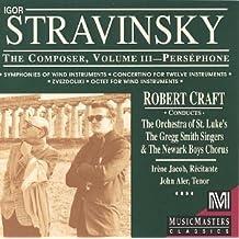 Stravinsky: The Composer, Vol. 3 - Perséphone