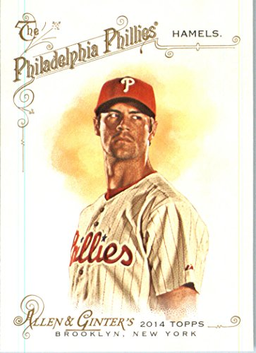 2014 Topps Allen & Ginter Baseball Card #105 Cole Hamels MINT