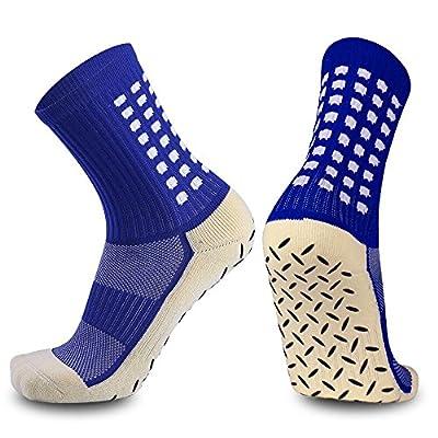 Anti Slip Socks, Non Skid Slipper Hospital Socks with grips for Adults Men Women Boys &GirlsBest Fit for indoor &outdoor activities, sports, athletic, soccer