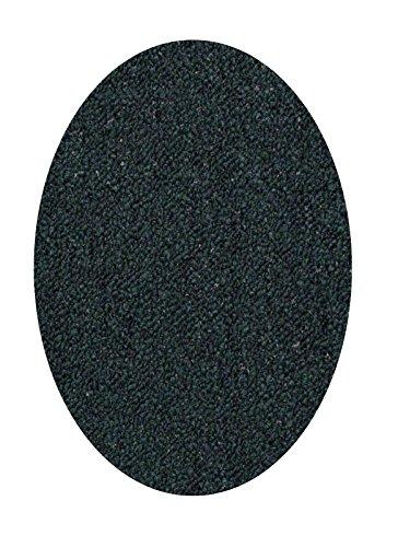 Dark Chocolate Oval Rug (Home Queen Indoor Outdoor Commercial Rugs Dark Green Color 6'X8' Oval - Area Rug)