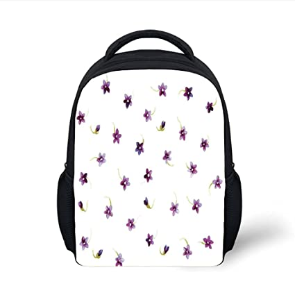10961c98de Amazon.com  iPrint Kids School Backpack Watercolor Flower