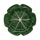 Bordallo Pinheiro Cabbage Green Charger Plate, Set of 2