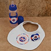 MLB New York Mets Infant Three-Piece Gift Set
