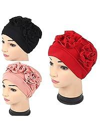 Luckystaryuan Cyber Monday 3Pack Womens Chemo Hat Beanie Turban Headwear