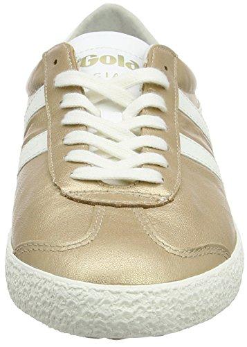 Gold Specialist Off Metallic Baskets Or Gola Femme Blanc White wUSqY6n7