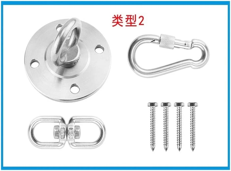 Gym Accessories Shengjuanfeng Wall Ceiling Mount Bracket for Suspension Kit for Yoga Swing