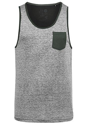 Tank solid Black 9000 Tell Top Homme nbsp; q5z5xf