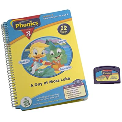 LeapPad Phonics Program Book #3: A Day at Moss Lake: Leap Frog: Toys & Games