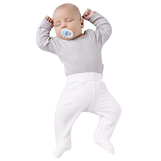 82b8e065f9393 Amazon.com: KONFA Cozy 2Pcs Outfits Striped T-Shirt+Soft Pants for ...