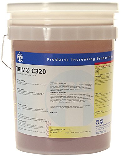 TRIM Cutting & Grinding Fluids C320/5 High Lubricity Synthetic Coolant, 5 gal Pail