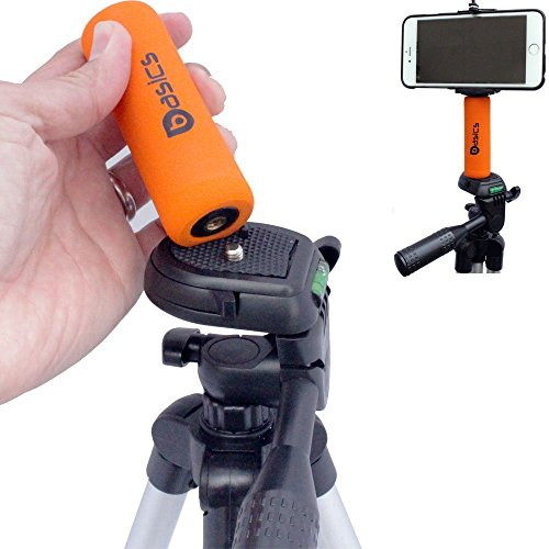 iphone tripod adapter accessorybasics snap ii smartphone holder mini grip 7036