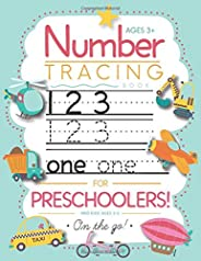 Number Tracing Book for Preschoolers and Kids Ages 3-5: Trace Numbers Practice Workbook for Pre K, Kindergarte