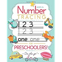 Image for Number Tracing Book for Preschoolers and Kids Ages 3-5: Trace Numbers Practice Workbook for Pre K, Kindergarten and Kids Ages 3-5 (Math Activity Book)