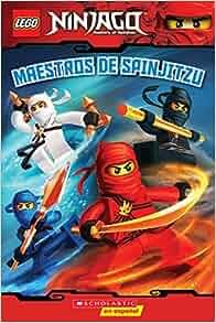Amazon.com: LEGO Ninjago: Maestros de Spinjitzu (Lector No ...