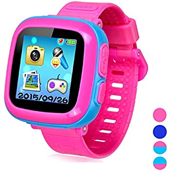 Kids Smart Watch Girls Boys,Smart Game Watch with Camera Touch Screen Pedometer,Perfect Holiday Birthday Toys Gifts (Joint Blue)
