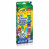 Crayola 16 Pip-Squeaks Broad Line Washable Markers, School and Craft Supplies, Gift for Boys and Girls, Kids, Ages 3,4, 5, 6 and Up, Holiday Toys, Stocking Stuffers, Arts and Crafts