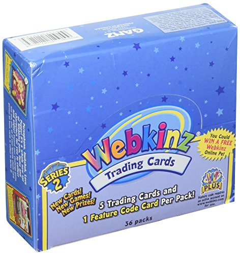 Webkinz Trading Cards Series 2 Sealed Box 36 Packs