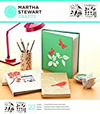 Martha Stewart Crafts Medium Stencils (8.75 by 16.75-Inch), 32256 Birds/Berries (3 Sheets with 22 Designs)