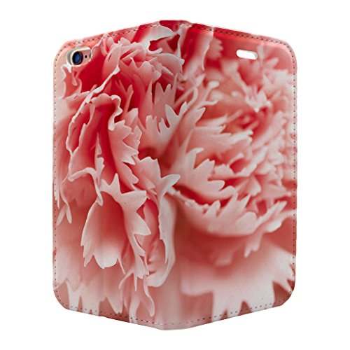 Carnation Flower Full Case Flip Cover für Apple iPhone 6–6S – S3323