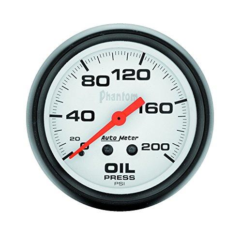 (Auto Meter 5822 Phantom Mechanical Oil Pressure Gauge)