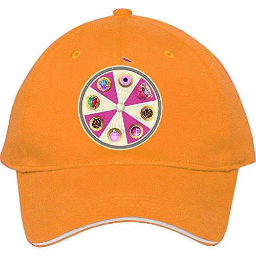2015 Hat Baseball Cap Male/female Outdoor Casual Snapback Booster Wheel (candy Crush) Yellow Cotton Frankiewarren