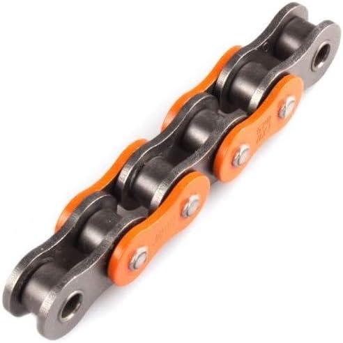 Chaine De Transmission Afam 520 A520Mx4-O Orange 120 Maillons