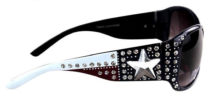 Amazon.com: Montana West JP Lone Star de bandera de Texas ...