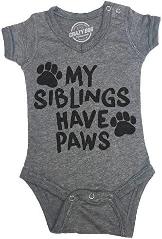Creeper Siblings Dog Jumpsuit Newborn product image