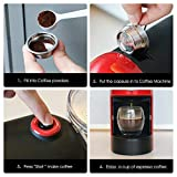 AppleLand Refillable Stainless Steel Coffee Capsule Cup Set for LAVAZZA A MODO MIO Jolie