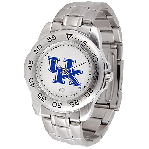 Kentucky Wildcats Men's Sport ''Game Day Steel'' Watch