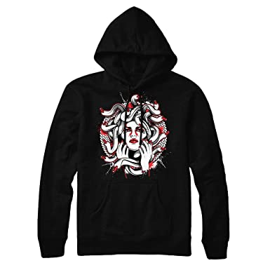 fd7d8cf667f Infrared 6 Medusa Hoodie to Match Jordan 6 Infrared Sneakers (Small)