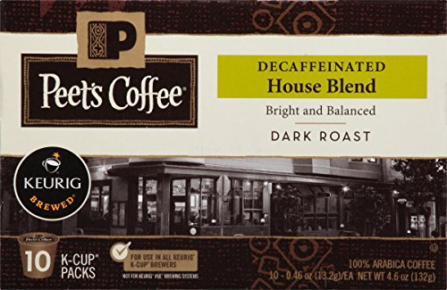 Peets Coffee Decaf House Blend product image