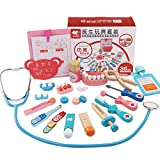 Ocamo Doctor Play Set Dentist Out-call Suit Toys Children Pretend Play Imitated Medical Kit Medical Toys,24pcs