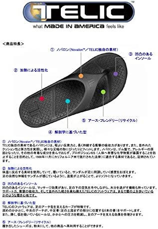 【正規品】SLIDE MIDNIGHT BLACK L(28cm) 200-01-L