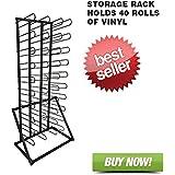 Signworld Vinyl Roll Floor Storage Rack - Holds 40 Rolls