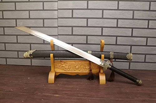 Chinese sword/da dao/High manganese steel blade/Solid wood scabbard/Alloy - Minecraft Song Li