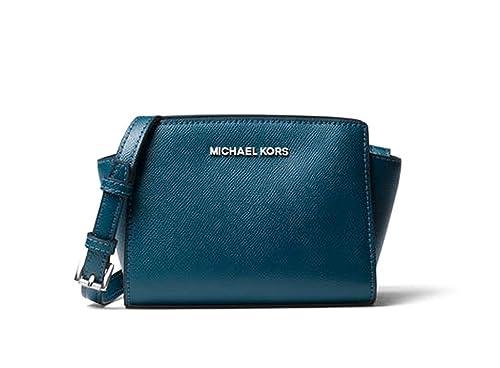 numerousinvariety drop shipping low price Michael Kors Selma Mini Saffiano Leather Crossbody - Luxe ...