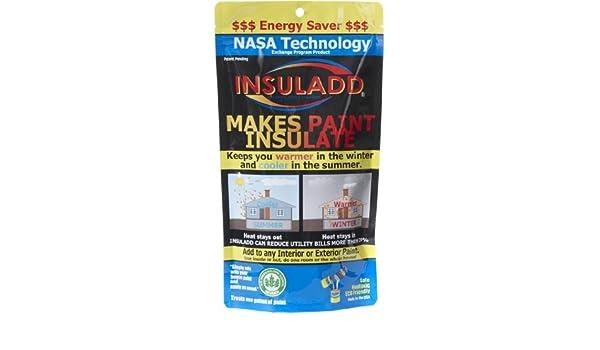 insuladd aislante Pintura aditivo - 1 Gallon Kit: Amazon.es: Bricolaje y herramientas