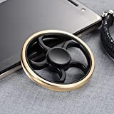 Fidget Toy Spinner, Relieves Anxiety Toy, Stress Relief, Finger Spinner Hand Spinner Toy, Fast Bearing Focus Toy for Killing Time, Relax for Children and Adults