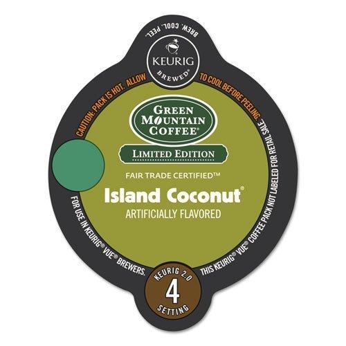 Green Mountain Island Coconut Vue Packs 16ct
